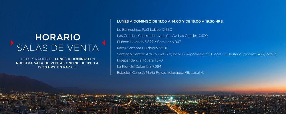Venta de Departamentos Nuevos en Santiago